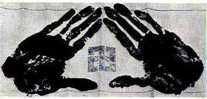 Impressão digital de Chiba Shûsaku Narimasa